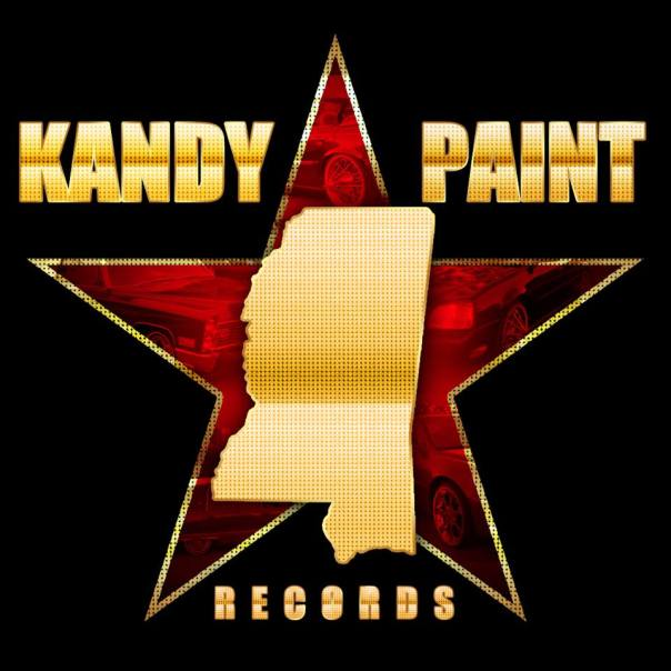 Kandy Paint Records Logo 2014 Gold